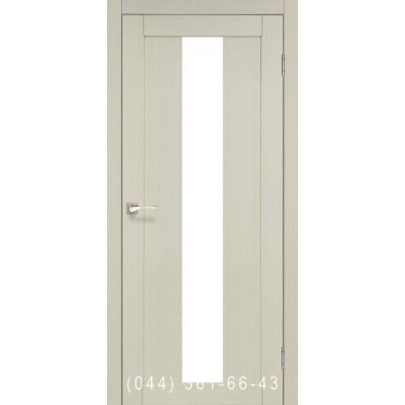 Двери КОРФАД PORTO PR-10 дуб беленый со стеклом (сатин матовый)