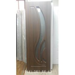 Двері Сабрина 70 см горіх шоколадний