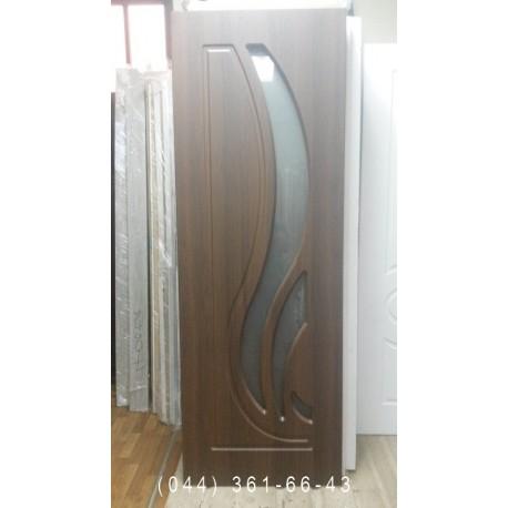 Двери Сабрина 70 см орех шоколадный