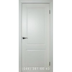 Двери межкомнатные Норд 140 белая эмаль глухое