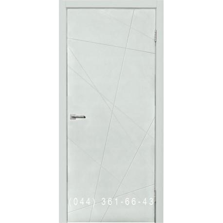 Двері міжкімнатні Норд 164 біла емаль