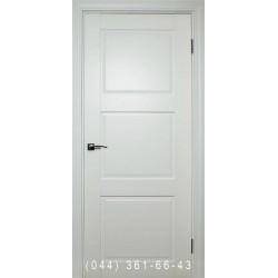 Двери межкомнатные Норд 146 белая эмаль