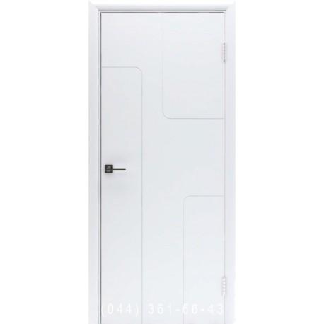 Двери межкомнатные Норд 176 белая эмаль