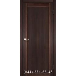 Двери КОРФАД PORTO DELUXE PD-03 орех глухое