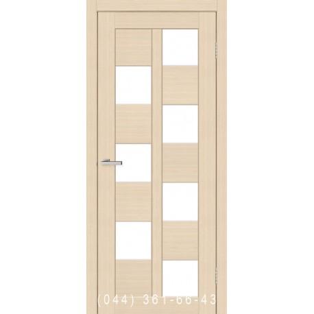 Двери Cortex Deco 05 дуб Latte со стеклом (сатин матовый)