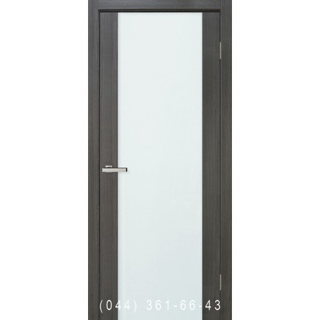 Двери Cortex Gloss дуб Ash со стеклом (триплекс)