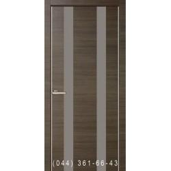 Двери Cortex Gloss 02 дуб Ash со стеклом (триплекс)