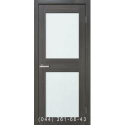 Двери Cortex Gloss 04 дуб Ash со стеклом (триплекс)