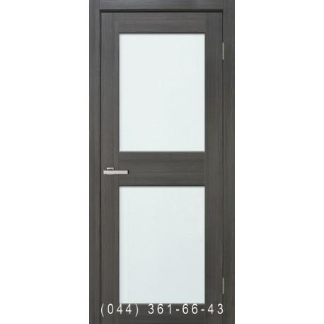 Двері Cortex Gloss 04 дуб Ash зі склом (триплекс)