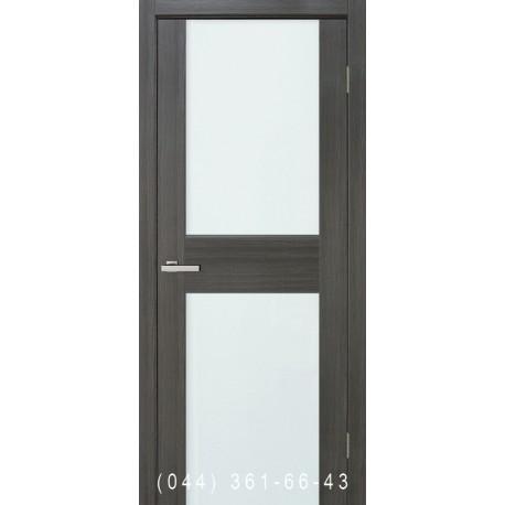 Двері Cortex Gloss 03 дуб Ash зі склом (триплекс)
