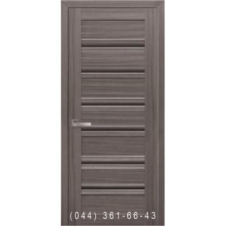 Двери Венеция С1 Новый Стиль с черным стеклом
