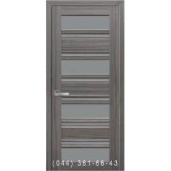 Двери Венеция С2 Новый Стиль со стеклом графит