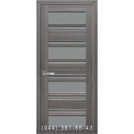 Двері Венеція С2 Новий Стиль зі склом графіт
