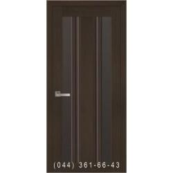 Двери Верона С2 Новый Стиль с черным стеклом
