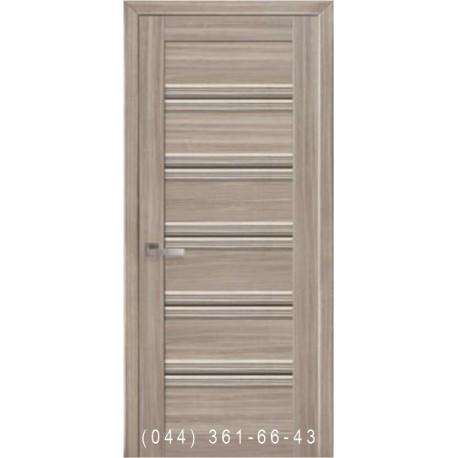 Двері Віченца С1 Новий Стиль зі склом бронза