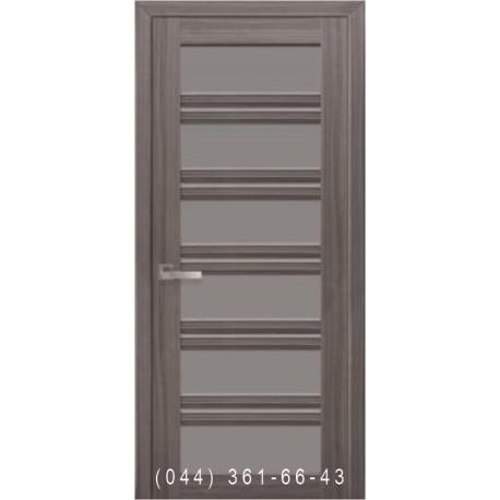 Двері Віченца С2 Новий Стиль зі склом графіт