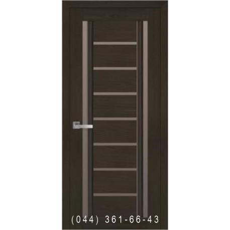 Двері Флоренція С2 Новий Стиль зі склом бронза