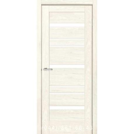 Двери Rino 03 дуб Остин со стеклом (сатин матовый)
