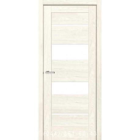 Двері Rino 04 дуб Остин зі склом (сатин матовий)