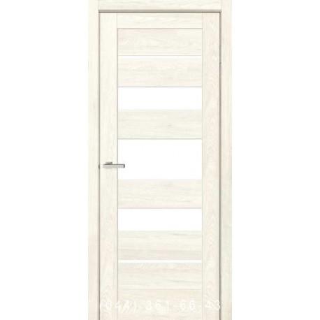 Двері Rino 05 дуб Остин зі склом (сатин матовий)
