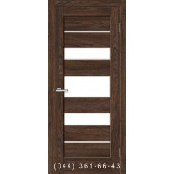 Двері Rino 05 дуб Такома зі склом (сатин матовий)