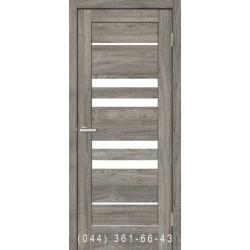 Двері Rino 06 дуб Денвер зі склом (сатин матовий)