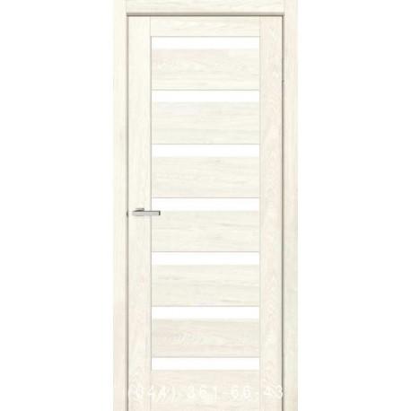 Двери Rino 07 дуб Остин со стеклом (сатин матовый)