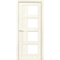 Двері Rino 08 дуб Остин зі склом (сатин матовий)