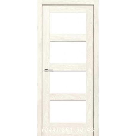 Двері Rino 10 дуб Остин зі склом (сатин матовий)