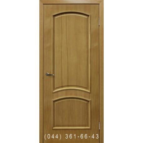 Двери Капри дуб натуральный тонированный глухое