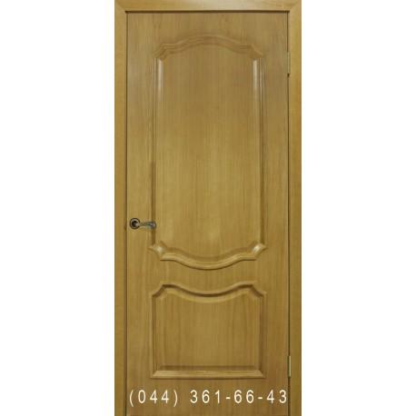 Двері Кармен дуб натуральний тонований глухе