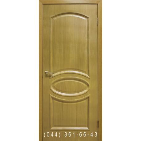 Двері Лаура дуб натуральний тонований глухе