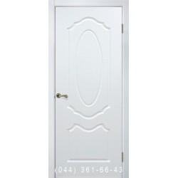 Двері Олівія біла блакить глухе
