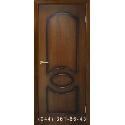 Двері Вікторія горіх лісовий глухе