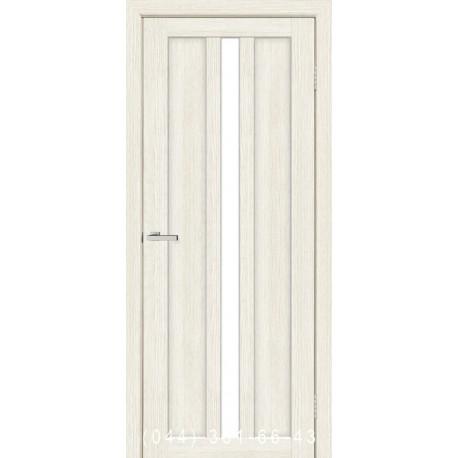 Двери Римини сосна Сицилия со стеклом (сатин матовый)