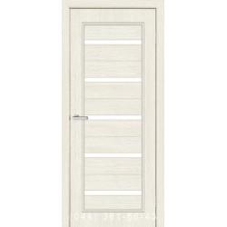 Двери Милена сосна Сицилия со стеклом (сатин матовый)
