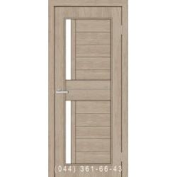 Двери Амелия сосна Мадейра со стеклом (сатин матовый)