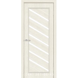 Двери Паула сосна Сицилия со стеклом (сатин матовый)