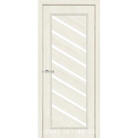 Двері Паула сосна Сицилія зі склом (сатин матовий)