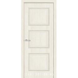 Двери Флоренция 1.3 сосна Сицилия со стеклом (сатин матовый)