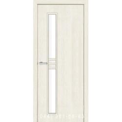 Двери Нота сосна Сицилия со стеклом (сатин матовый)