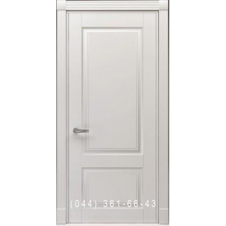 Двери Тесоро К1 (Дуос) белая эмаль
