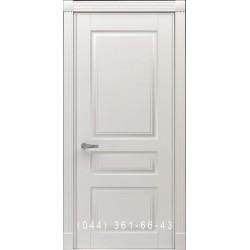 Двери Тесоро К2 (Трио) белая эмаль