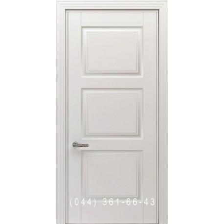 Двери Тесоро К4 (Триони) белая эмаль
