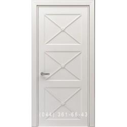 Двері Тесоро К4 Х (Вегас) біла емаль