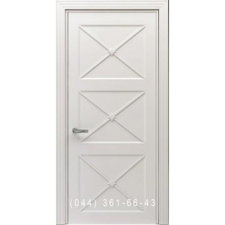 Двери Тесоро К4 Х (Вегас) белая эмаль