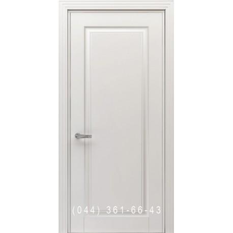 Двери Тесоро Соло белая эмаль