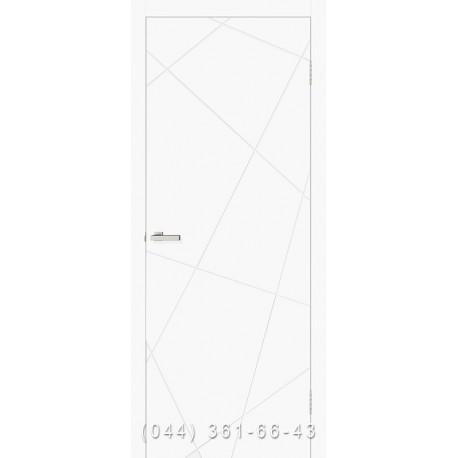 Двери Cortex Геометрия 03 ОМИС белый мат