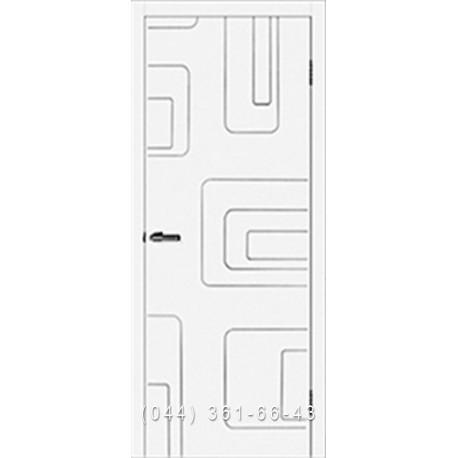 Двери Cortex Геометрия 04 ОМИС белый матовый