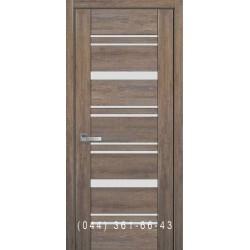 Двери Валенсия Новый Стиль бук шато с матовым стеклом